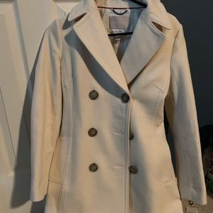 NWOT Banana Republic Peacoat